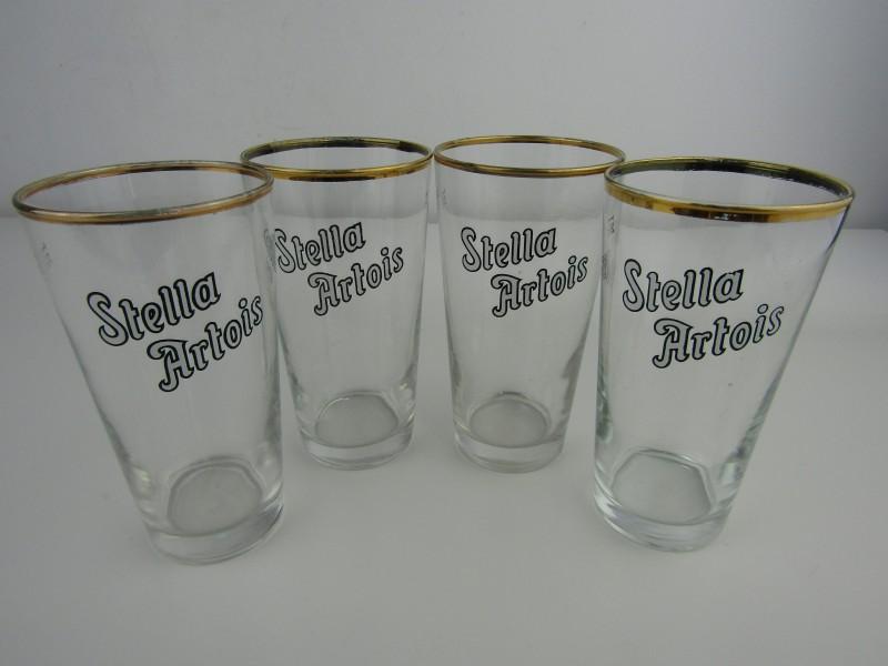 4 x Bierglas / Boerke: Stella Artois