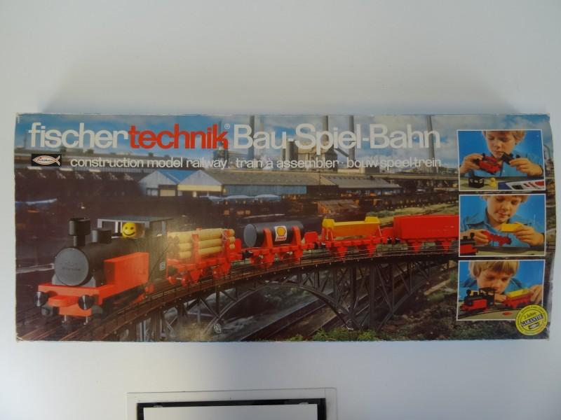 Fischer Technik - Spielbahn modelspoorweg