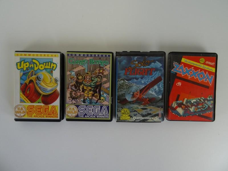 RETRO Lot Games Commodore 64