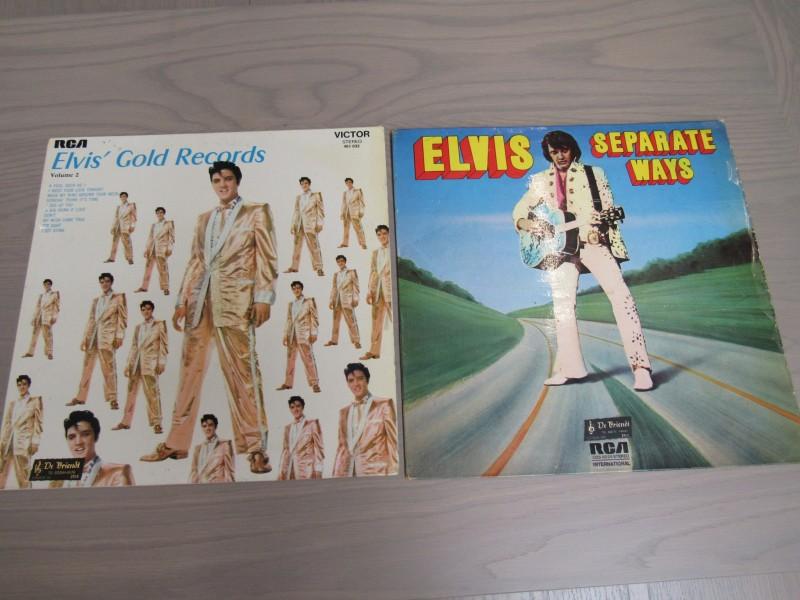 2 LP's Elvis Presley lot n° 2
