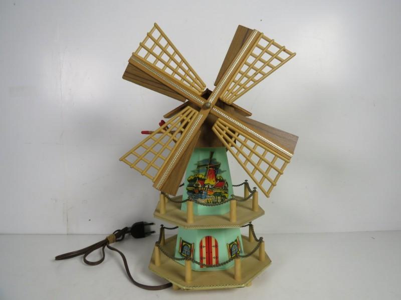 Muziekdoos in vorm van windmolen