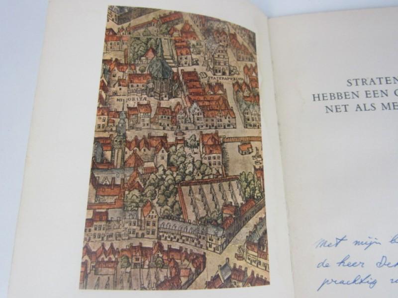 Kunstboekje, Straten hebben een gelaat net als mensen, Roger Avermaete, 1960, gehandtekend