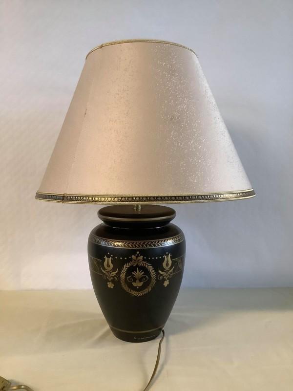 Tafellamp met bollevoet