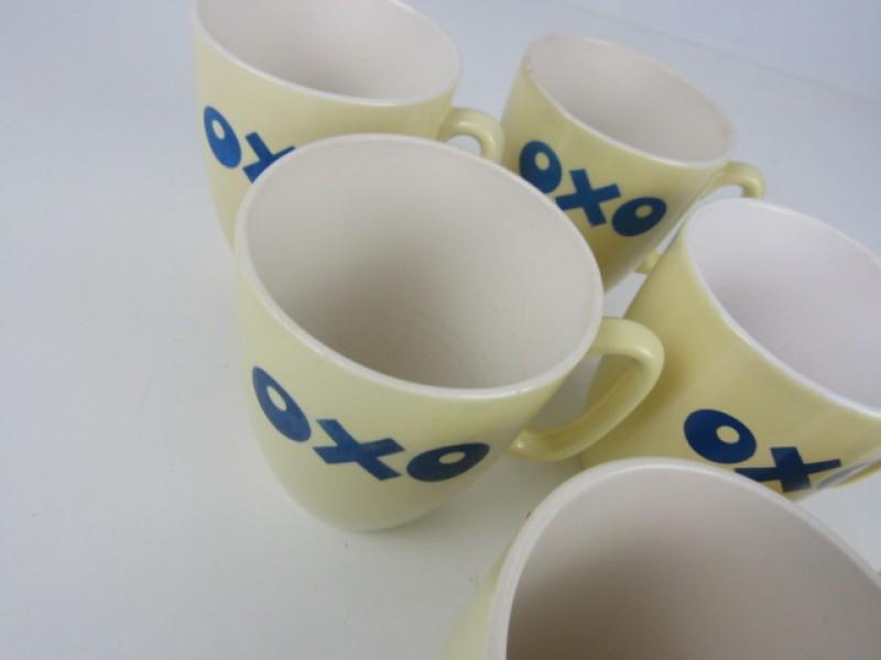 Set van 7 OXO tassen