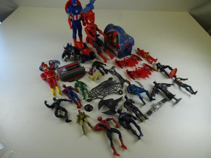 LOT Marvel en DC