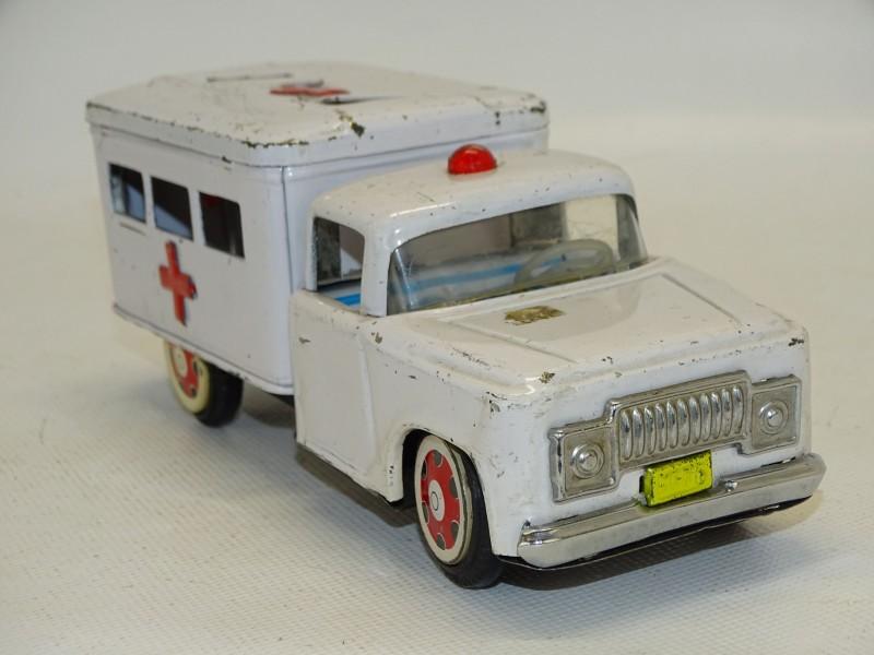 Blikken Speelgoed: Ziekenwagen, Made In China