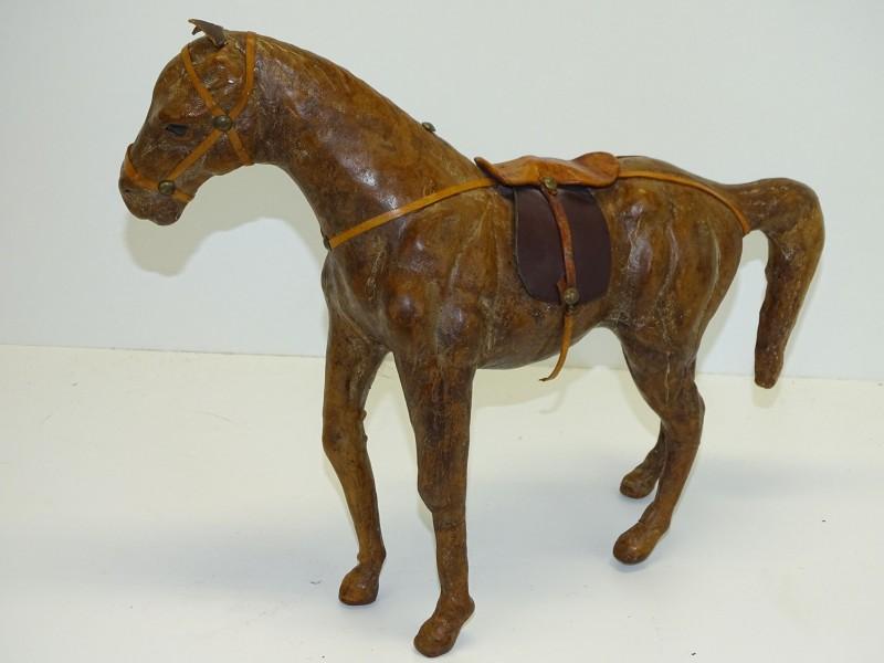 Handgemaakt Lederen Paard