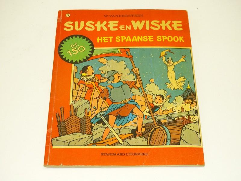 Suske en Wiske Strip: Het Spaanse Spook, Jubileum Nr. 150, 1974