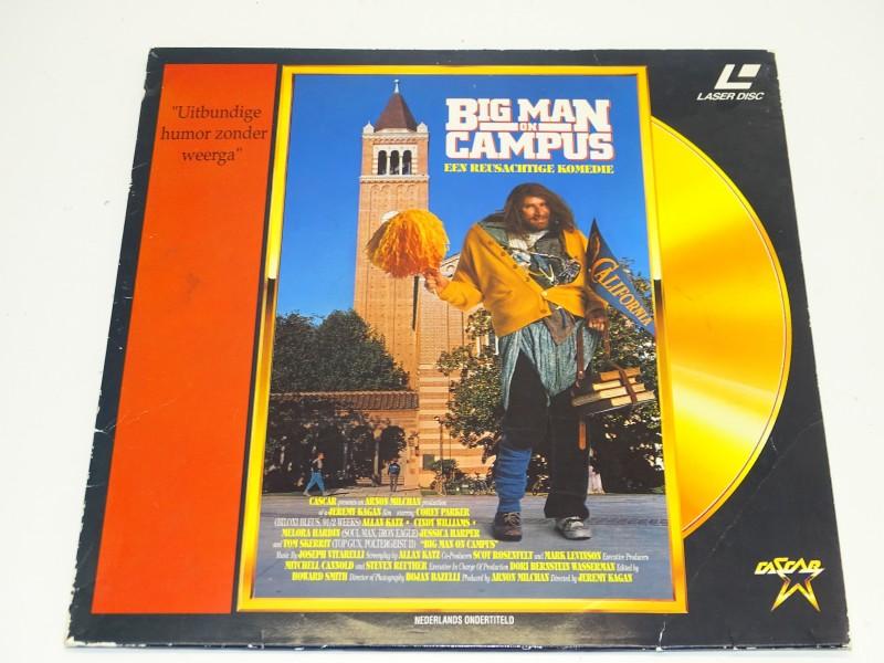 Laserdisc: Big Man On Campus, Cascar Video, 1989