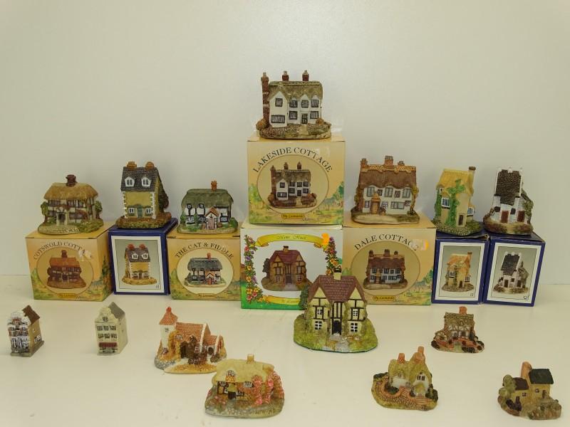14 Miniatuur Huisjes: Leonardo Collectie