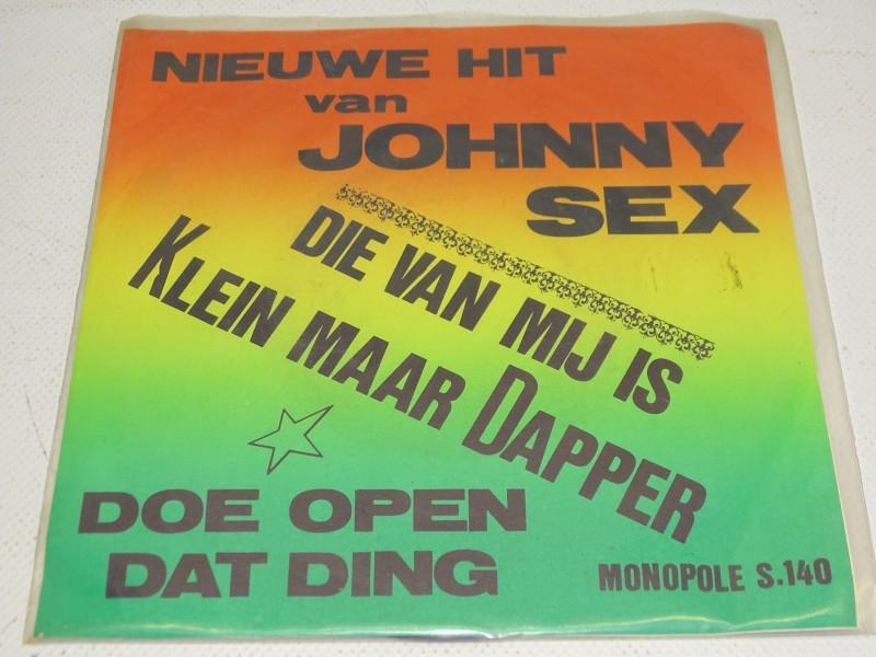 Single Johnny Sex Single, Die Van Mij Is Klein Maar Dapper, 1970
