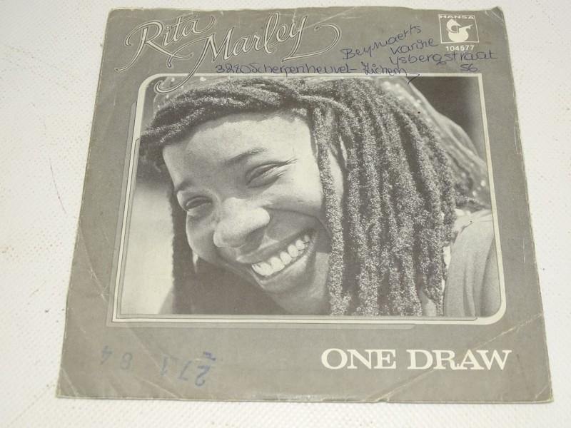 Single, Rita Marley, One Draw, 1981