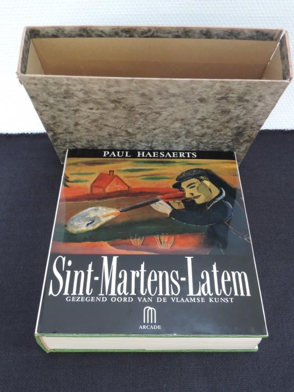 "Prentenboek ""Sint-Martens-Latem"" van  Paul Haesaerts."