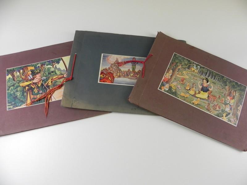 "De Beukelaer: 3 chromoalbums: ""Sneeuwwitje"","" Robin Hood"" en ""Gulliver"""