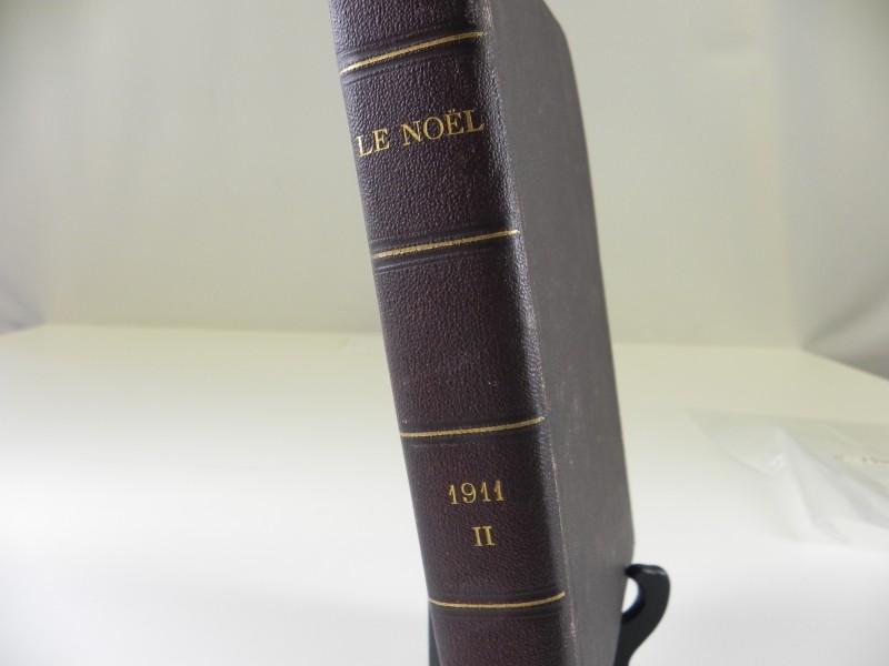 """bundeling van vintage tijdschrift """"Le Noël"""" 1911 2de semester"""