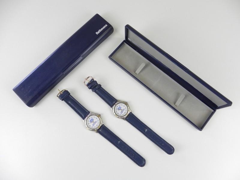 2 horloges in set ROTHMANS Williams RENAULT (nieuwstaat)