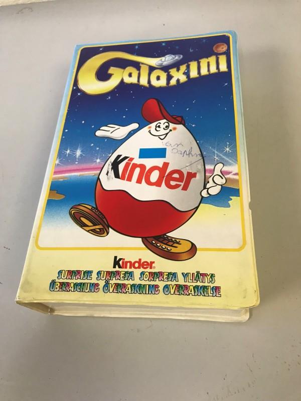 "Kinder surprise set ""Galaxini"" astro comic aliens Europe 1999 figuurtjes"