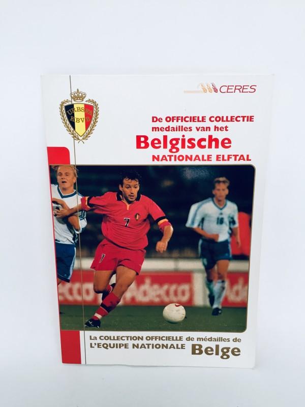 Officiële Collectie Medailles België EK 2000