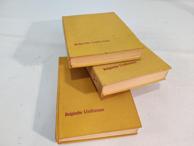 Belgische Uniformen (boeken :3 delen)