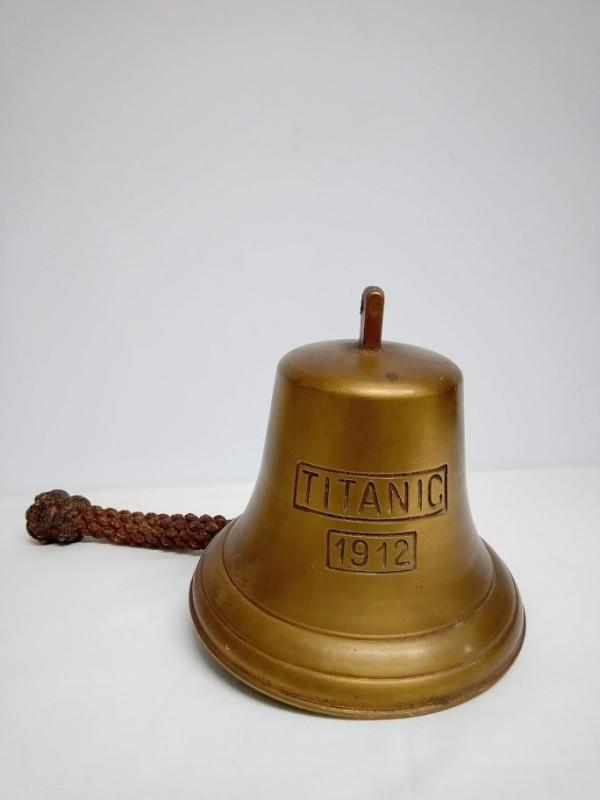"""Bronzen bel """"Titanic"""" 1912"""