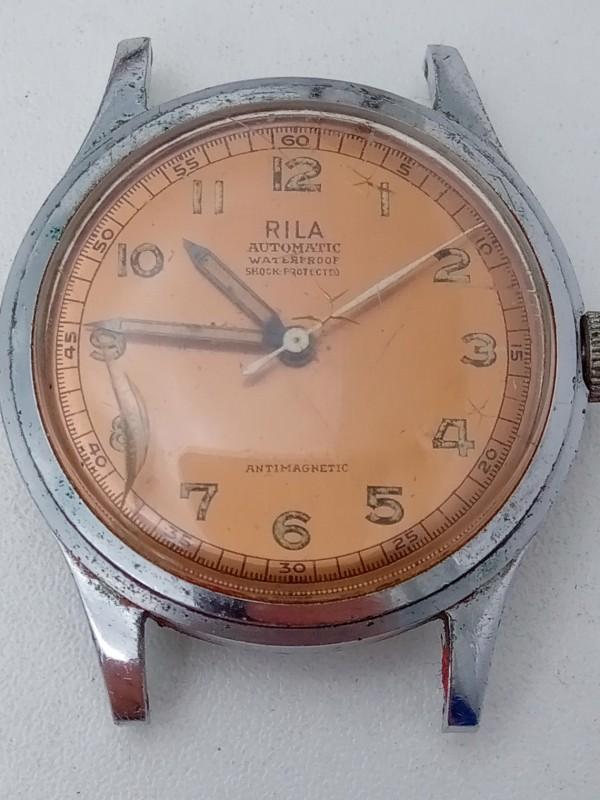 "Vintage ""Rila"" automatic horloge"