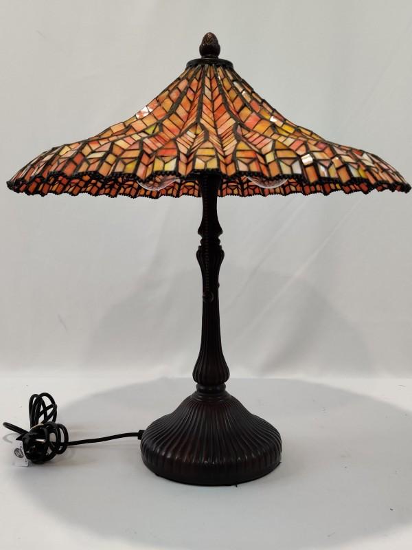 Tafellamp in Tiffany stijl