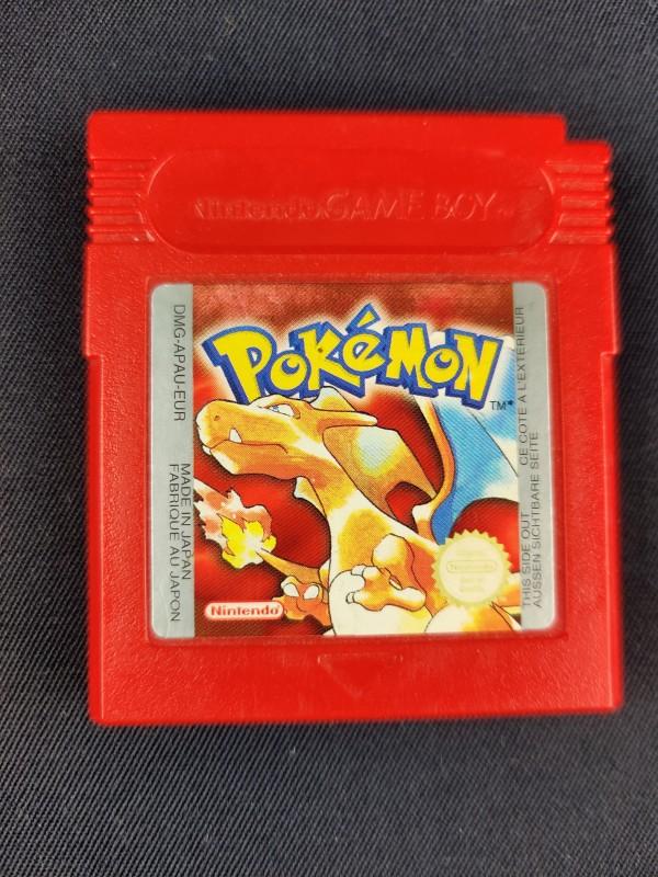 Pokemon red gameboy.