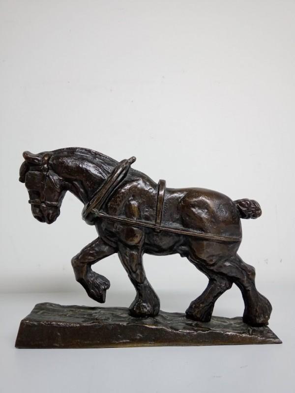 ijzeren trekpaard