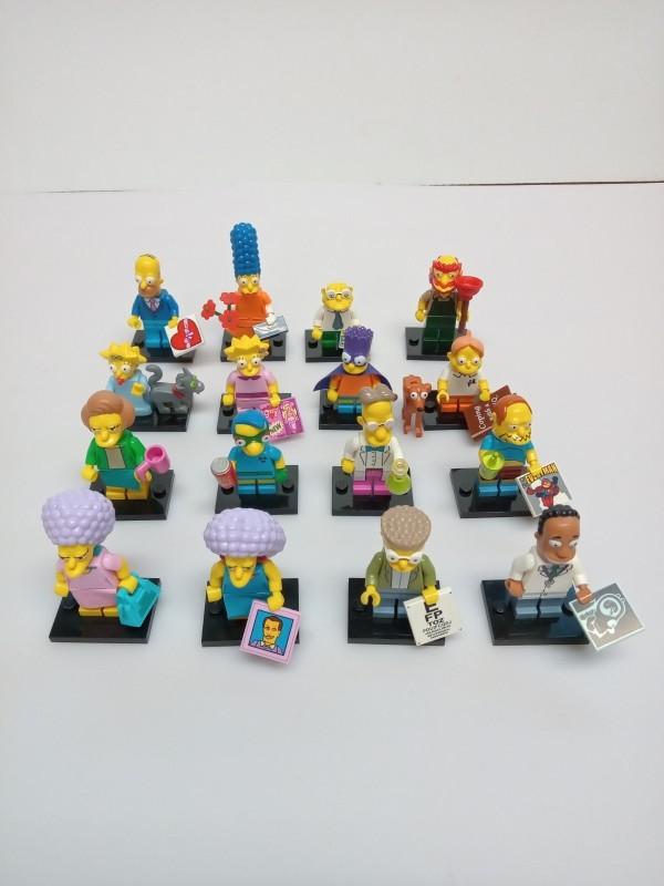 Simpson Lego mini figuurtjes