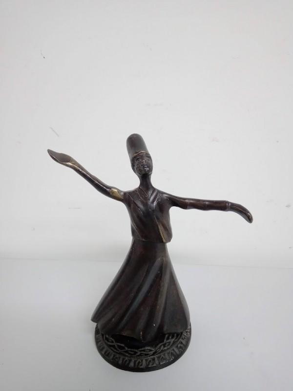 Arabische danser (koper) op draaibare voet