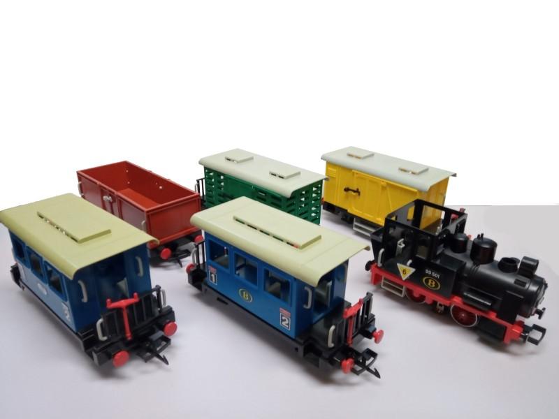 playmobil treinen, Belgische spoorwegen