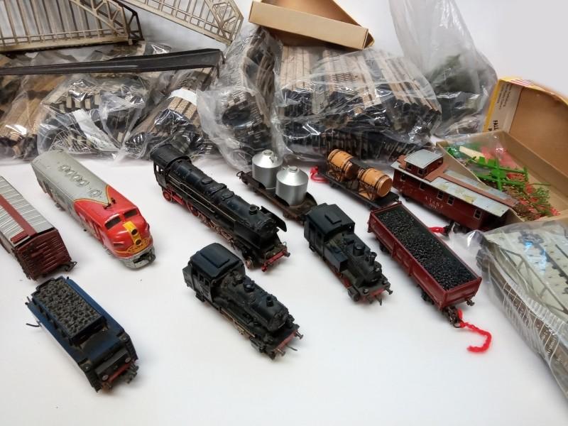 Lot miniatuurtrein Marklin