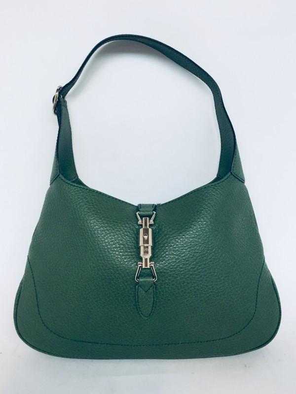 Jackie O Green Shoulder Bag Gemerkt Gucci