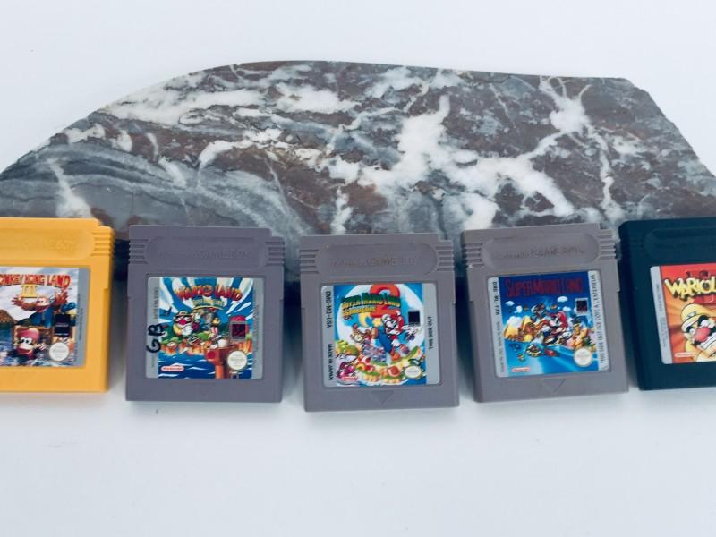 Vijf Games Voor Nintendo Game Boy