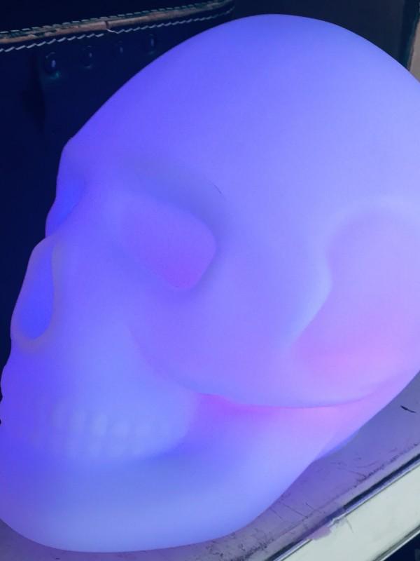 Bigben Lumin'us Schedel Bluetooth Speaker - LED Verlichting