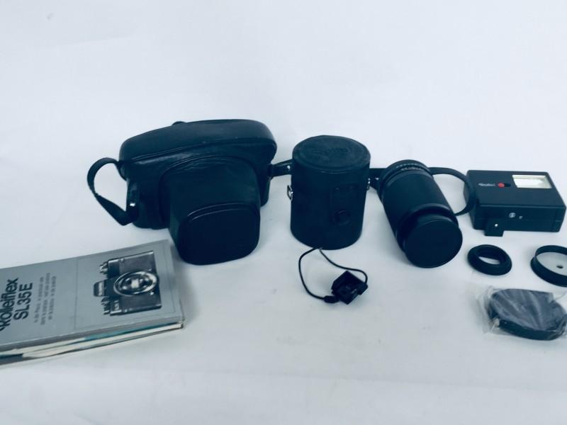 Rolleiflex SL35E Met Toebehoren