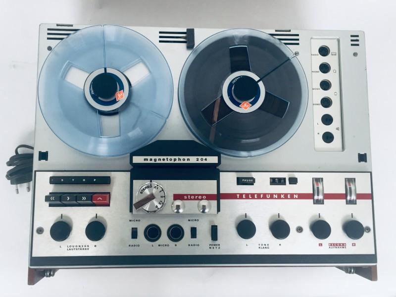 Telefunken Magnetophon 204