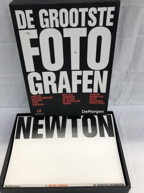 Boek= De Grootste fotografen - De Morgen