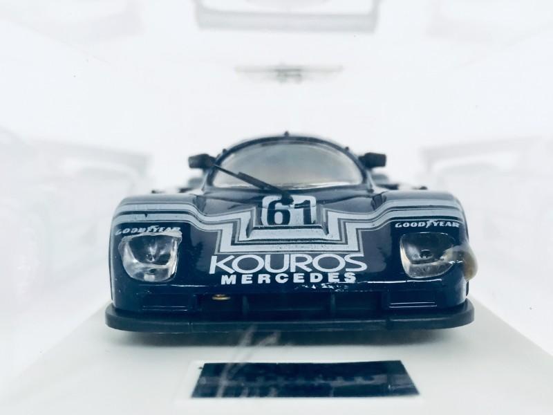 4x Mercedes Sauber 1986 Le Mans Schaalmodellen