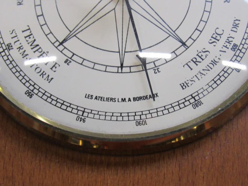 Barometer Les ateliers à Bordeaux - Altitude