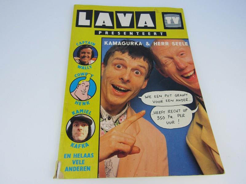 Strip: Lava TV Presenteert Kamagurka & Herr Seele, 1990