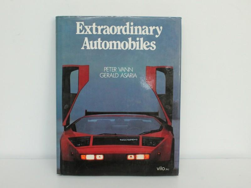 Boek: Extraordinary Automobiles - Peter Vann & Gerald Asaria