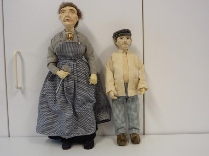 Duo poppen: oma en opa - De Kringwinkel