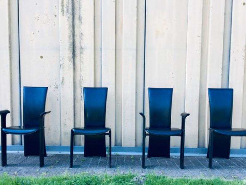 4x Vintage Pietro Costantini Dining Chair