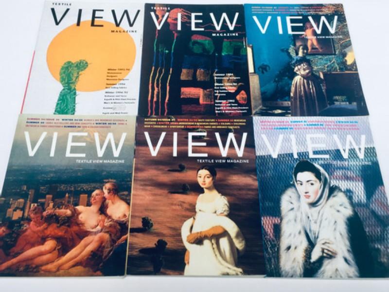 5x Textile View Magazine