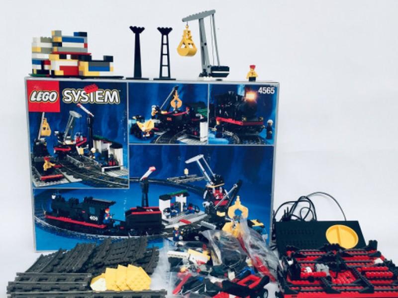 Lego City Goederentreinset 4565, Snelheidsregelaar En Adapter