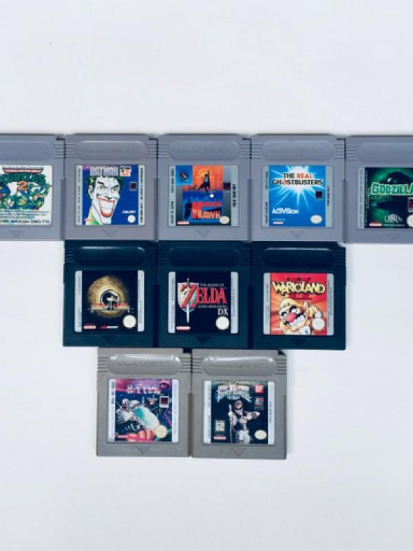10 Games Voor Game Boy